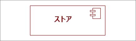 """""""ストア"""" コンポーネント図形"""