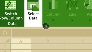 ラーニング Excel for the web