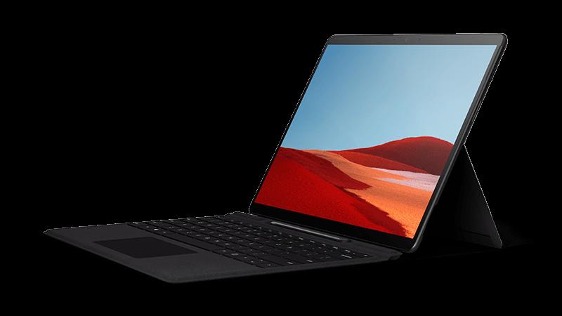 Surface Pro X デバイスの写真