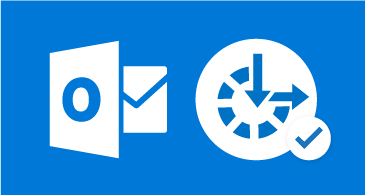 Outlook アイコンとアクセシビリティ記号