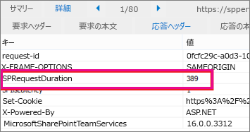 SPRequestDuration のサンプルのスクリーンショット