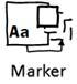 マーカーのテーマは、Visio for web ではサポートされていません。