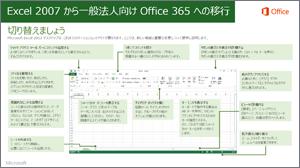 Excel 2007 から Office 365 への移行ガイドのサムネイル