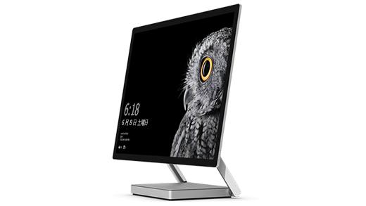 Surface Studio 2 画面