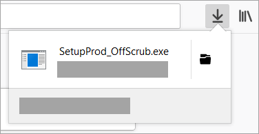 Chrome Web ブラウザーでサポート アシスタントのダウンロード ファイルを検索して開く場所