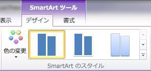 SmartArt Styles group on the Design tab under SmartArt Tools