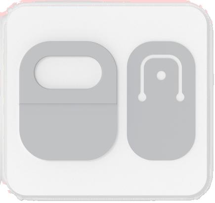 Surface Adaptive Kit ネック ストラップ オープナーが付いたカード。