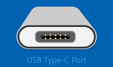 USB type-C ポート