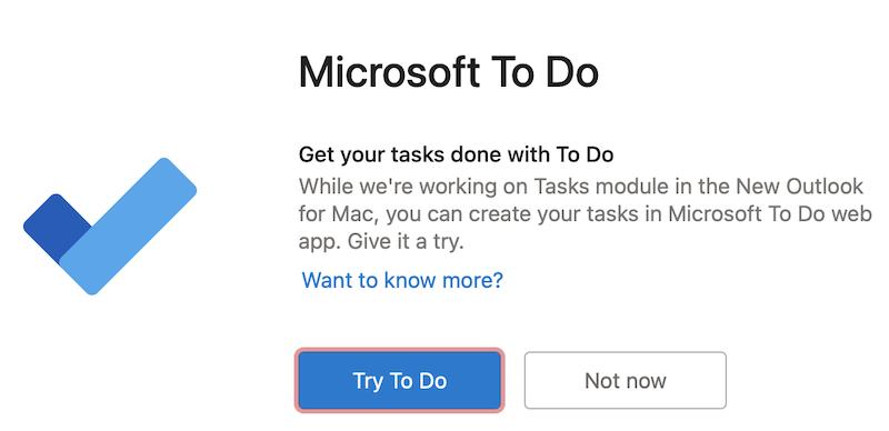 Microsoft To Do をお試しください。