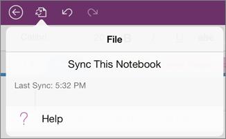 File menu button