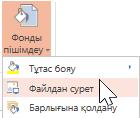 Файлдағы сурет