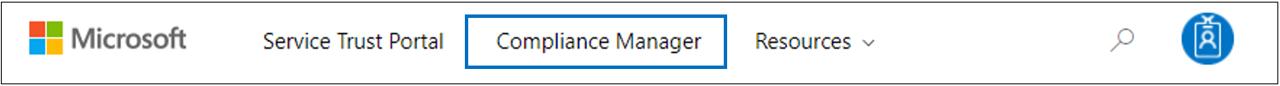 준수 관리자 - STP 메뉴에서 준수 관리자 액세스