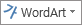 중간 WordArt 아이콘