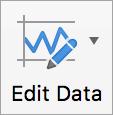 데이터 편집 단추