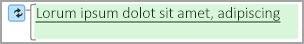 녹색 강조 표시는 변경된 텍스트를 의미합니다.