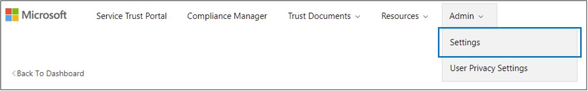 STP 관리 메뉴 - 설정 선택됨