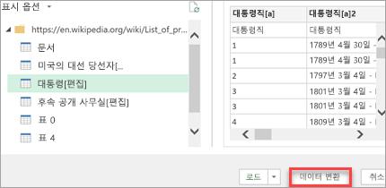 사용자 지정 데이터 형식
