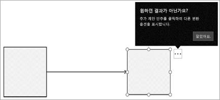 커넥터 표시