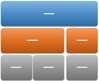 표 계층 구조형 SmartArt 그래픽 레이아웃