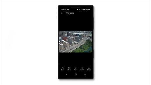 그림이 표시 된 Android