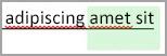 다른 검토자의 변경 내용을 보여 주는 강조 표시
