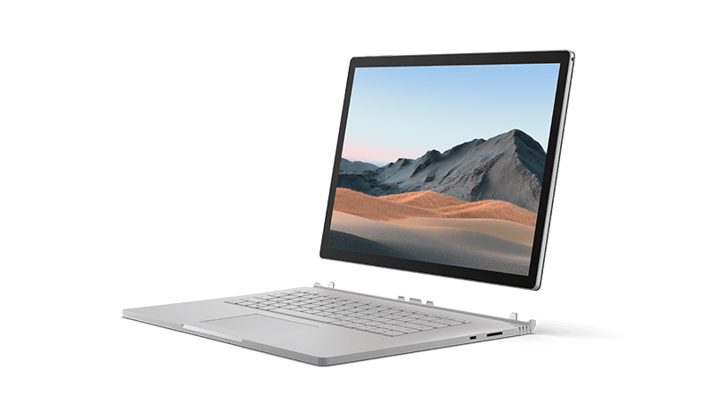 Surface Book 3 디바이스 렌더링