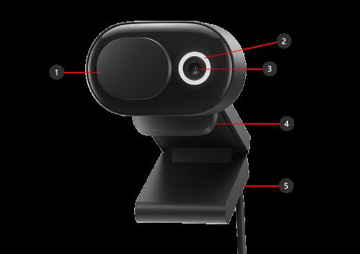 """Microsoft Modern Webcam"" dalys"