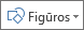 """Mygtukas Įterpti figūras programoje """"Excel"""""""