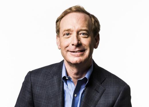 """Microsoft"" prezidentas Brad Smith"