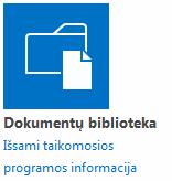 Dokumentų biblioteka