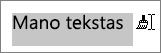 Vilkdami per teksto taikyti nukopijuotą formatavimą
