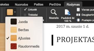 """""""Office for Mac"""" dėmesio sutelkimo režimo funkcija"""