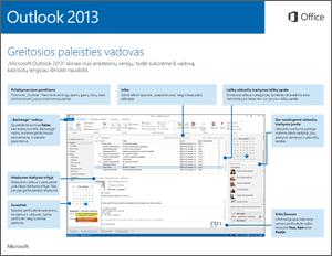 """""""Outlook 2013"""" greito pasirengimo darbui vadovas"""