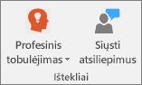 Mokomaisiais išteklių grupė.