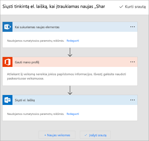 """Vykdykite nurodymus, pateiktus """"Microsoft"""" Flow svetainės prisijungti srautą"""