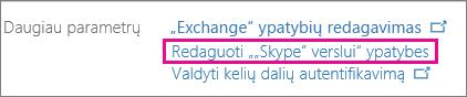"""Pasirinkite """"Skype"""" verslui"""