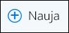 """""""Outlook"""" žiniatinklyje Naujo el. laiško piktograma"""
