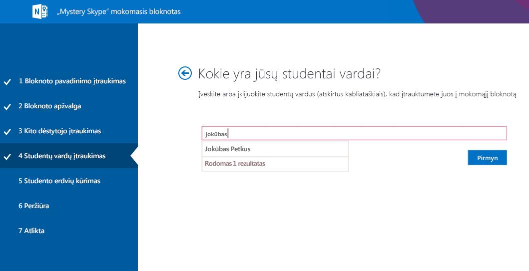 """Studentų įtraukimas į """"Mystery Skype"""""""