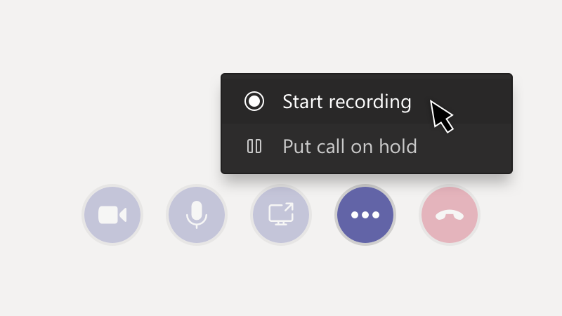 Mygtukas įrašyti susitikimą