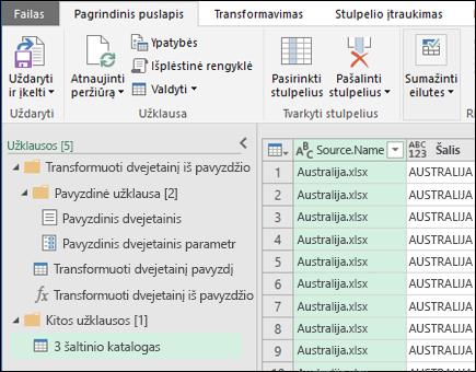 """Sujunkite dvejetainių failų peržiūros dialogo langą. Paspauskite uždaryti ir įkelti rezultatus ir importuoti juos į """"Excel""""."""