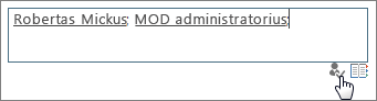 Įtraukti save į svetainių rinkinio administratorius