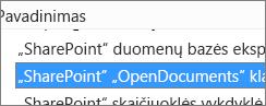 """Įjungti """"SharePoint OpenDocuments"""" klasės """"ActiveX"""" valdiklį"""
