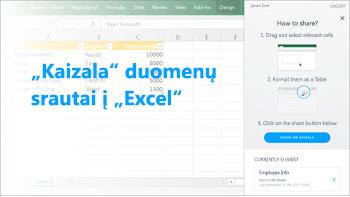 Ekrano: Lentelė publikuota apklausos duomenis
