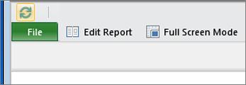 """""""SharePoint"""" papildinio """"Power View"""" mygtukas Įgalinti redagavimą"""