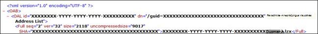 """Trikčių diagnostika """"Outlook"""" Autonominė adresų knyga"""