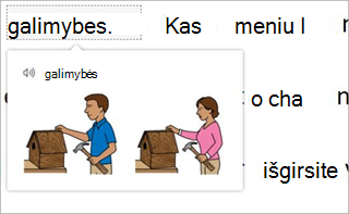 alternatyvus tekstas
