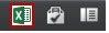 """Excel"" piktograma programoje ""Excel Web App"""