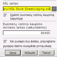 XSL failo saitas įklijuotas