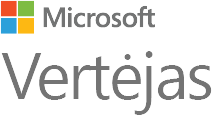 """Microsoft Translator"" logotipas"