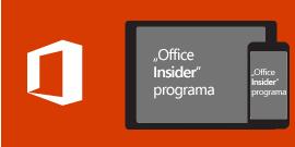 """Office Insider"", skirta ""iOS"""